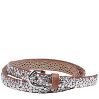 Markberg Rachel Leather Studded Belt - Dijon Clothing - FREE UK Delivery
