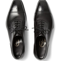 George Cleverley - Anthony Cameron Leather Brogues | MR PORTER