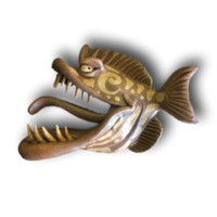 Tribal and Toothy - Fish with Attitude - Fish With Attitude by Mike Quinn
