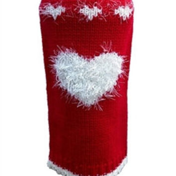 Red Sweetheart Dog Sweater