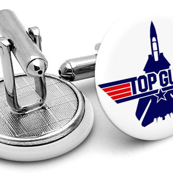 Topgun Tom Cruise Cufflinks