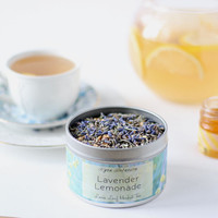 Lavender Lemonade Tea, Organic Loose Leaf Herbal Tea 1 oz