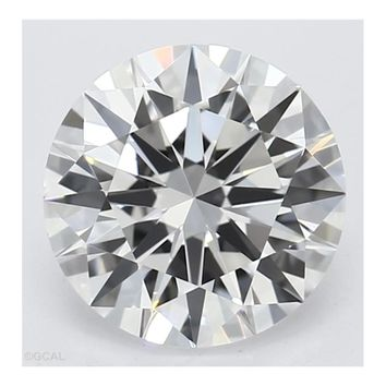 0.039 Ct Loose  2.1mm Round Diamond Gemstone I1 Clarity And G/I Color