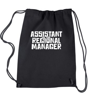Assistant To The Regional Manager Drawstring Backpack