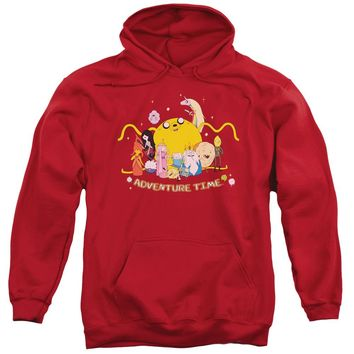 Adventure Time - Outstretched Adult Pull Over Hoodie