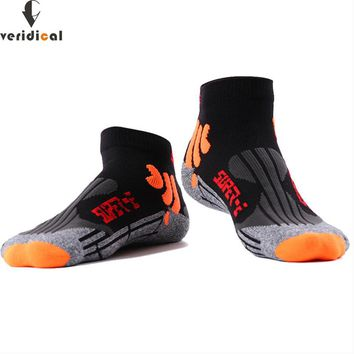VERIDICAL Professional ankle socks men good quality Against the stench, absorb sweat Sock Slippers boy compression socks 3 pairs