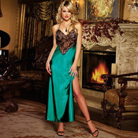 Hot Deal Cute On Sale Women's Fashion Sleeveless Lace Backless Deep V Sexy Exotic Lingerie [6596438531]
