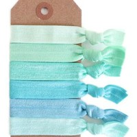 Sea Glass Hair Tie Set