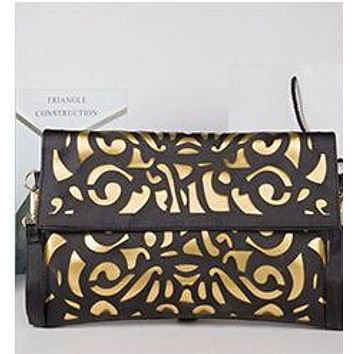 Hollow out Envelope Bags Hot Sale Hot Promotion Fluorescence Color Women's Candy Color Shoulder Handbags Day Clutch Bags D99-5
