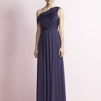 Jenny Yoo JY502 Long Off the Shoulder Bridesmaid Dress