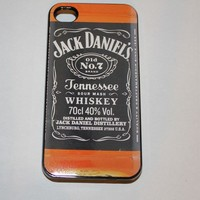 Jack Daniels iphone5 silicon rubber case