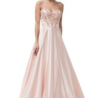Cute Sweetheart Long Evening Dress