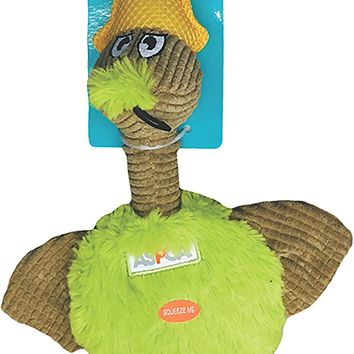 ASPCA Flat Quacks Dog Toy [Green]