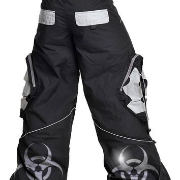 Amok Biohazard Booster Pants - Unique and Original Wide Leg Rave Pants
