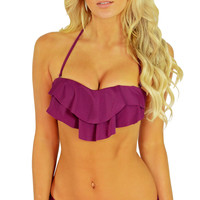 Beach Solids Smoothies  Moulded Bra 100153