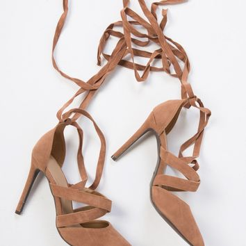 To the Point Suede Heels