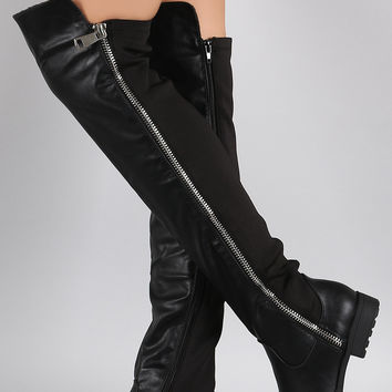 Shop Bamboo Riding Boots on Wanelo