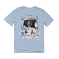 Colt Tee in Southern Sky by Southern Fried Cotton