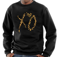 XO The Weeknd Cheetah Crewneck Sweatshirt