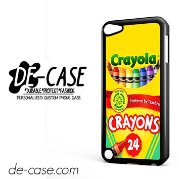 Crayola Crayons Colorful DEAL-2841 Apple Phonecase Cover For Ipod Touch 5