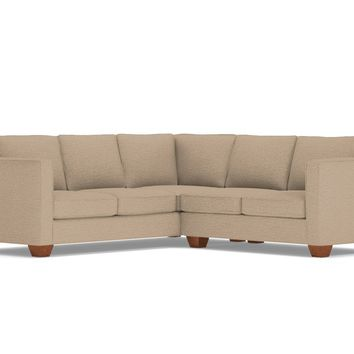 Catalina 2pc L-Sectional Sofa in BEIGE - CLEARANCE