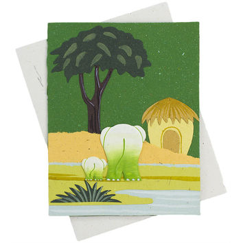 Ellie Pooh Classic Greeting Cards