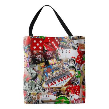 Las Vegas Icons - Gamblers Delight Tote Bag