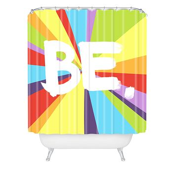 Kal Barteski BE Spectrum 1 Shower Curtain