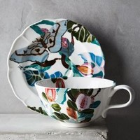 Shelley Hesse Paradise Found Cup & Saucer in Assorted Size: Cup & Saucer Dinnerware
