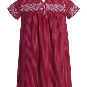 Girl's Tea Collection 'El Alto' Embroidered Dress,