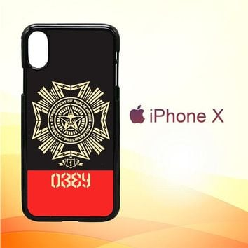 Obey Clothing O0726 iPhone X Case