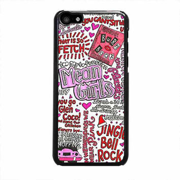 mean girls collage iphone 5c 4 4s 5 5s 6 6s plus cases