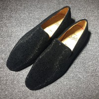 Cl Christian Louboutin Flat Loafer Style #787 - Best Online Sale