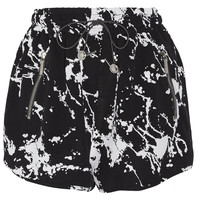 Zimmermann - Printed crepe shorts