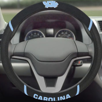 "UNC University of North Carolina steering wheel cover 15""x15"""