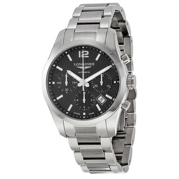 Longines Conquest Classic Stainless Steel Mens Watch L2.786.4.56.6