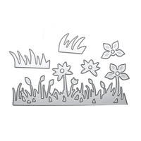 Metal Grass Flower Cutting Dies Stencils Embossing Scrapbooking Paper Card DIY Scrapbook Decoration