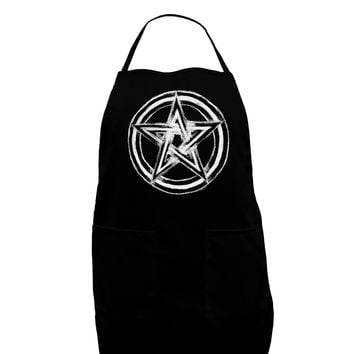 Pentacle Magick Witchcraft Star Dark Adult Apron