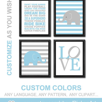 boy playroom rules boys room decor elephant nursery boy decor boy wall art nursery rules quote boys gift nursery prints baby nursery decor