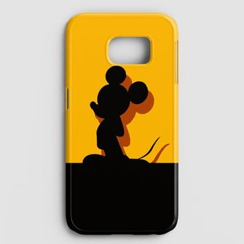 Mickey Mouse Pluto Chip And Dale Samsung Galaxy Note 8 Case