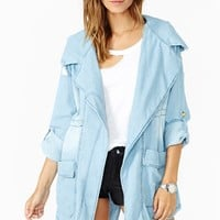 Loyal Chambray Anorak