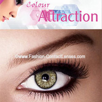 Gold Color Attraction Contact Lenses change your eyes Gold
