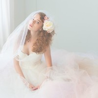 Tulle Wedding Gown  Queen For a Day Gown by clairelafaye on Etsy