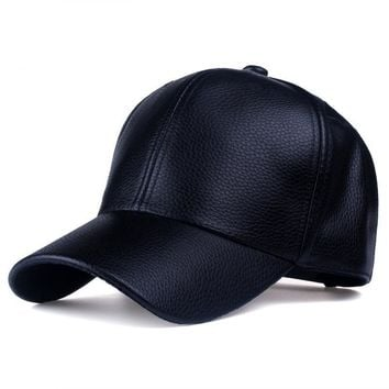 Trucker Snapback Hats Leather Hat Leather Cute, Graphic, Cool Baseball Cap