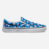 Vans Eley Kishimoto Classic Womens Slip-On Shoes Blue  In Sizes