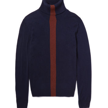 Paul Smith - Striped Cashmere Rollneck Sweater