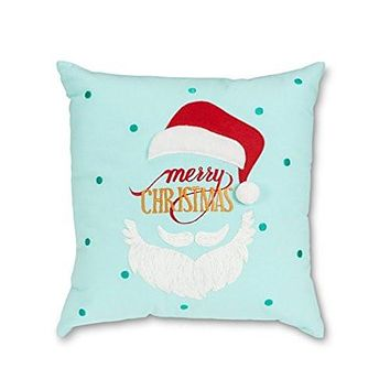 Large Santa Face Pillow