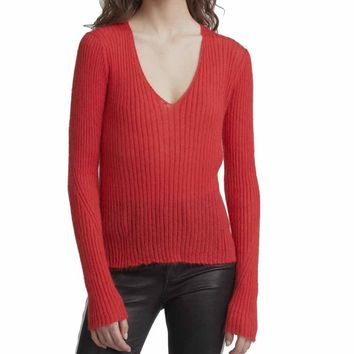Rag & Bone Donna V-Neck Sweater