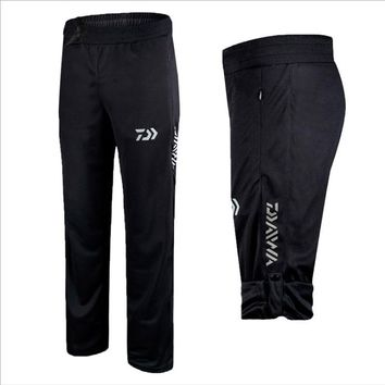 Outdoor Sports Pants 2017 Brand Professional Men Fishing Pants Anti-static Anti-UV Quick-drying Windproof Breathable Pants SP012