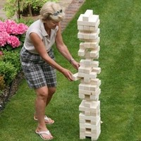 Giant Tumble Tower Game